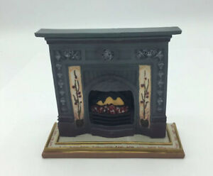 Dolls House Resin Fireplace And Hearth