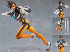 """Overwatch Tracer Figma 352 Action PVC Figure OW Model Toys 5"""" New In Box"""