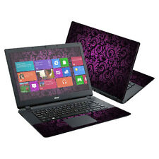 """Skin Decal Wrap for Acer Aspire E15 ES1-511 15.6"""" cover Purple Style"""
