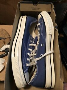 Converse Low Tops Mens True Navy Blue size 11.5 NIB