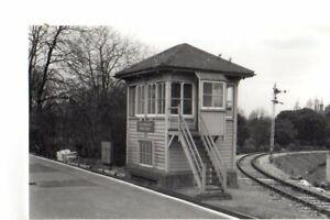 Rail Photo SR LBSC Portsmouth high level Signal box station Hampshire