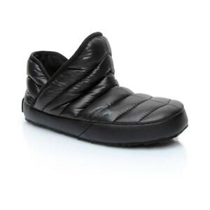 Original The North Face Thermoball Traction Bootie Slippers - Shiny Tnf Black T9