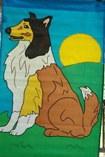 Collie Standard House Flag by NCE  #20227