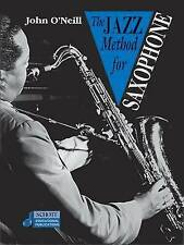 NEW The Jazz Method for Alto Saxophone (Book & CD)