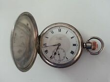 Mechanical (Hand-winding) Silver Case Analogue Wristwatches