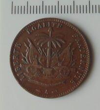 monnaie 1 cent 1886 république d'haiti
