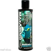 Brightwell MaxAmino 250ml Amino Acid Complex for Aquarium Fish Free USA Shipping