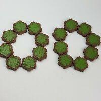 LOT OF 16 Grass SINGLE 1-Hex Tile Heroscape Terrain Tiles Replacement Parts LOT