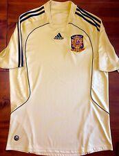 Adidas SPAIN Euro 2008 Away L Soccer Jersey Football Shirt Camiseta RFEF