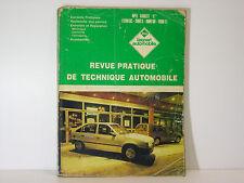 RTA Revue Technique Automobile Opel Kadett E essence 1200 1300 1600 1800