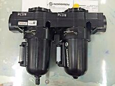 "NORGREN Olympian Plus F68G-NNN-AR3  L68M-NNP-ERN  Filter +  Lubricator  1-1/2"""