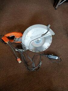 HUSQVARNA K4000 ELECTRIC CONCRETE SAW  WET OR DRY