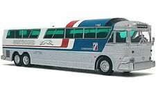 Greyhound MCI MC-7 Challenger Bus Iconic Replicas 1/87 HO Scale Pepsi Livery NIB