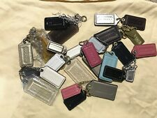 New COACH Key Fob Chain Purse Bag Wristlet Charm Tag Choose From Mixed Sets FS