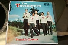 The Teenagers featuring Frankie Lymon Red Gee Label 1956 Used VG+ Condition