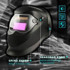 Solar Welder Helmet True Color Auto Darkening Welding Helmet Arc Tig Mig Weld Us