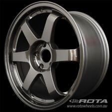 "17"" ROTA Grid 5/100 +44 WHEELS RIMS AUDI, SUBARU, TOYOTA, LEXUS CT, VW"