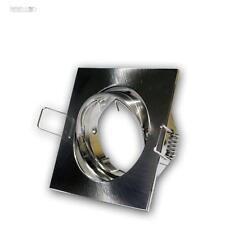 Cornice per incasso satinato Lampada da MR16 GU5,3 Orientabile Faretto
