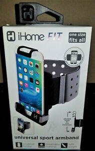 iHome FIT Universal Sports Armband - One Size Fits Most Smartphones - Brand New