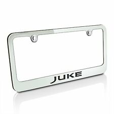 Nissan Juke Chrome Brass License Plate Frame