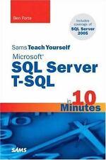 Sams Teach Yourself Microsoft SQL Server T-SQL in 10 Minutes (Sams-ExLibrary