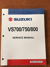 Suzuki Intruder VS700 750 800 Service Repair Shop Manual 99500-38064-03E OEM