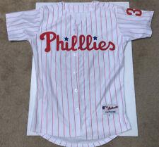 MAJESTIC Philadelphia Phillies 09 #34 CLIFF LEE Jersey Adult size 44