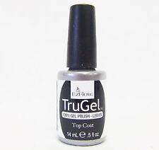 EzFlow Nail Gel Polish TRUGEL LED/UV Top Coat .5oz/15mL