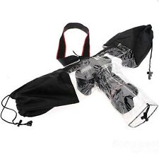 Universal Rain Cover Protector For Canon DSLR SLR Camera Rain Sleeve Protection
