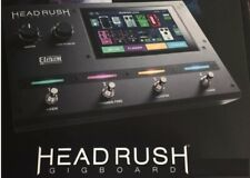 New HeadRush Gigboard Guitar Effects Pedal Board Processor