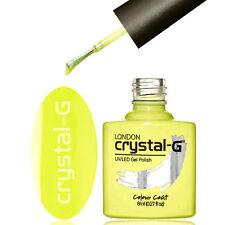 UK CRYSTAL-G NEON & NUDE PREMIUM UV/LED SOAK OFF GEL NAIL POLISH ABC +++