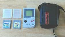 Original 1989 Nintendo Gameboy console bundle DMG-01Super Marioland, Mario Yoshi