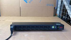 APC AP7921 Rack PDU, Switched, 1U, 16A, 208/230V, (8)C13 Power Distribution Unit