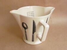 POUNTNEY BRISTOL POTTERY BRISTOL LONG LINE HANDLED MEASURING JUG (Ref4789)