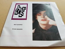 "Boy George, To Be Reborn, Where Are You Now, 1987, UK, BOY 103, Vinyl, 7"", EX+"