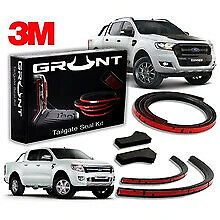 Grunt 4X4 Tailgate Seal Kits for Ford Ranger PX/2/3 (with tub liner).