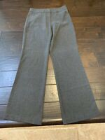 Worthington Modern Fit Flat Front Gray Casual Dress Pants - Size 2