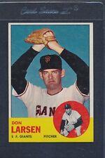 1963 Topps #163 Don Larsen Giants EX *1204