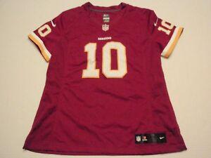 Women Robert Griffin III Washington Redskins Nike NFL Equipment Size Large #10