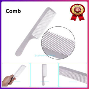 Anti-static Stainless Steel Comb Professional Salon Hair Styling Barber Tools US