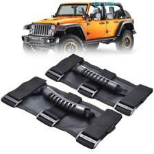 2x Top Roll Bar Grab Handles Grip Wide For Jeep Wrangler CJ YJ TJ JK JK JL