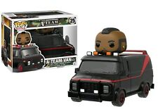 FUNKO POP VINYL RIDES THE A-TEAM A TEAM VAN WITH B.A. BARACUS FIGURE & RIDE