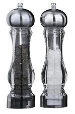 David Mason Design Large Pepper & Salt Grinder Mills Set Kitchen Tableware
