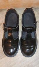 Dr Martens Mary Jane T Bar Black Patent Shoes Uk Size 5/5.5?