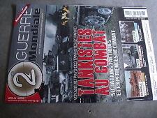 µ? Revue  2e Guerre  Mondiale n°62 Tankistes au combat Kasserine Stalingrad