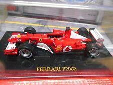 FERRARI F1 2002 Voda Saison 2002 Schumacher #1 Shell Formula One IXO Altaya 1:43