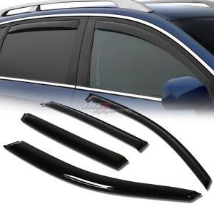 FOR 03-08 FX35 FX45 S50 SMOKE TINT WINDOW VISOR SHADE/VENT WIND/RAIN DEFLECTOR