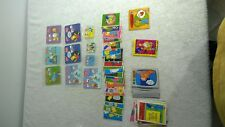 New Zealand 1991 - 1998 Simpsons Trading Card Lot Regina James Griffins + More