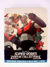 SUPER ROBOT MOVIE COLLECTION 2 BLU-RAY + DVD - MAZINGA Z - GOLDRAKE - GETTER