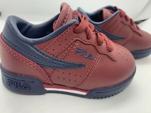Fila Disruptor Boys Infant Toddler Baby Sneakers Red Size 6
